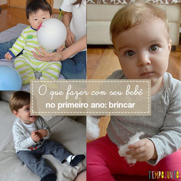 Coletânea de atividades para bebês de até 1 ano de vida