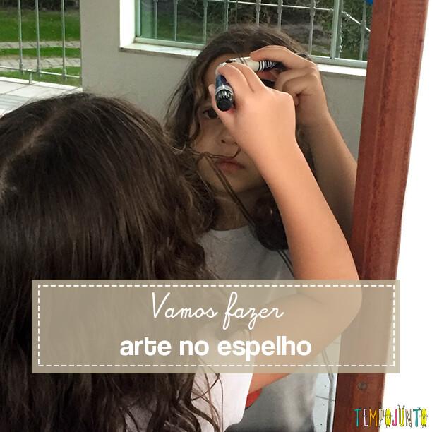 Como fazer um autorretrato com as crianças