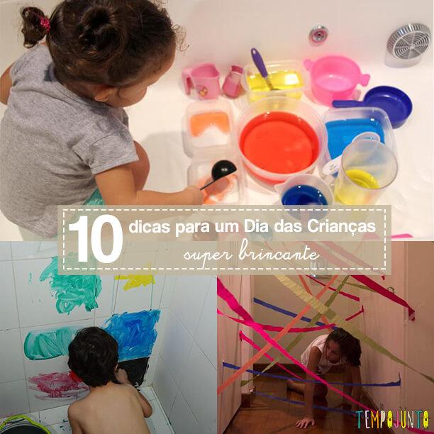 10 brincadeiras divertidas para o Dia das Crianças