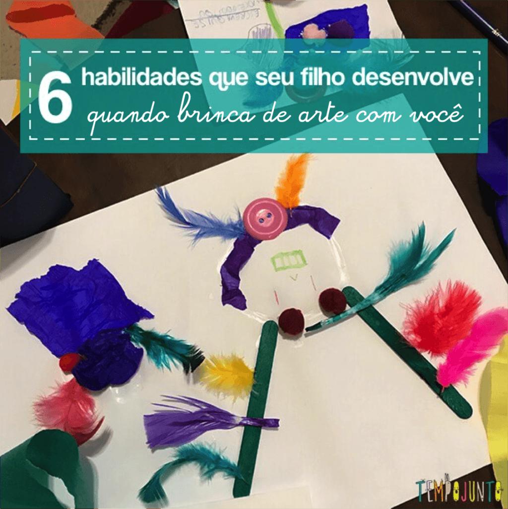 6 benefícios das atividades de arte para crianças