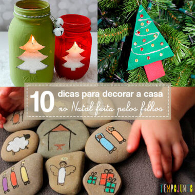10 sugestões de decoração de Natal que são motivo de alegria e brincadeira