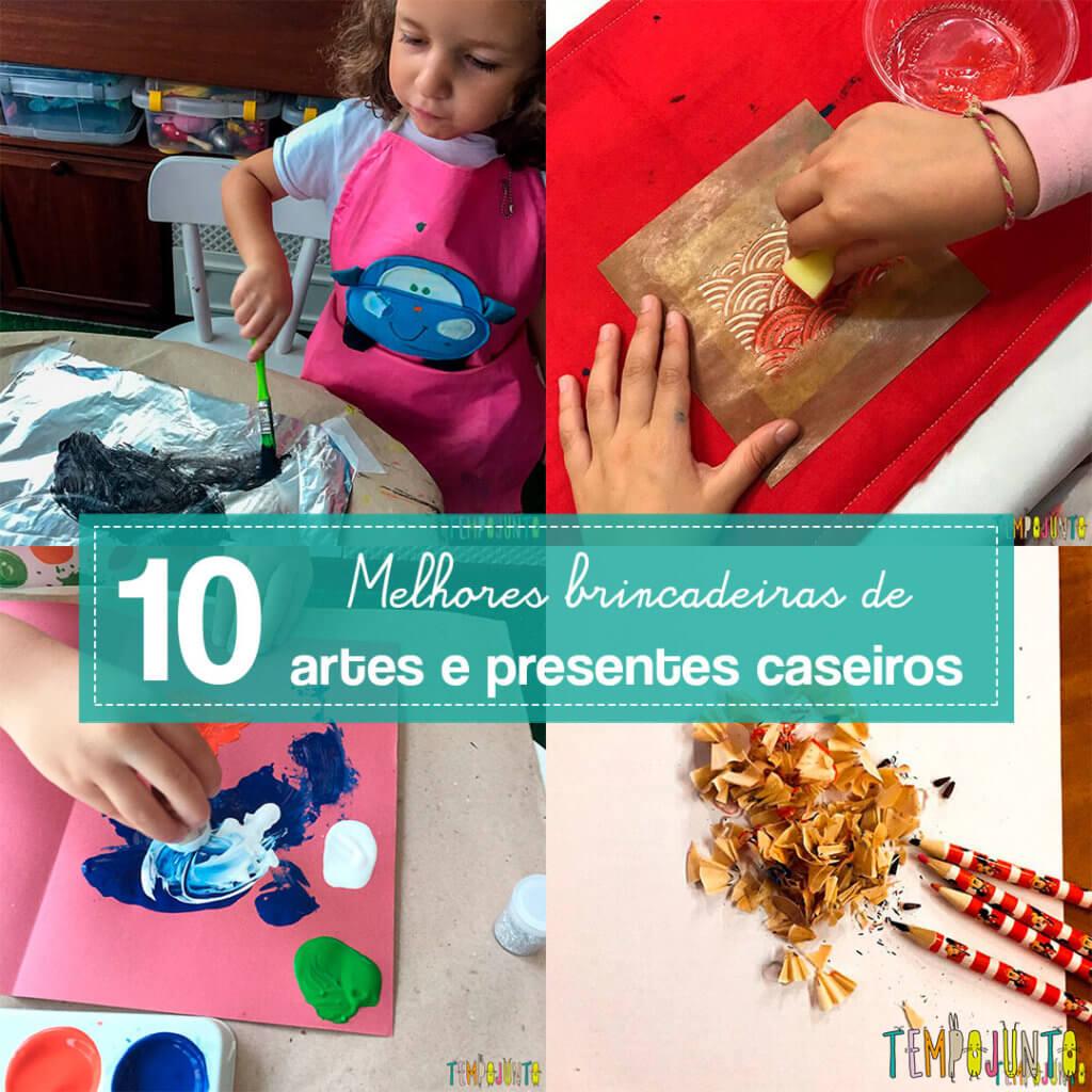 10 melhores atividades de artes e presentes para crianças de todas as idades