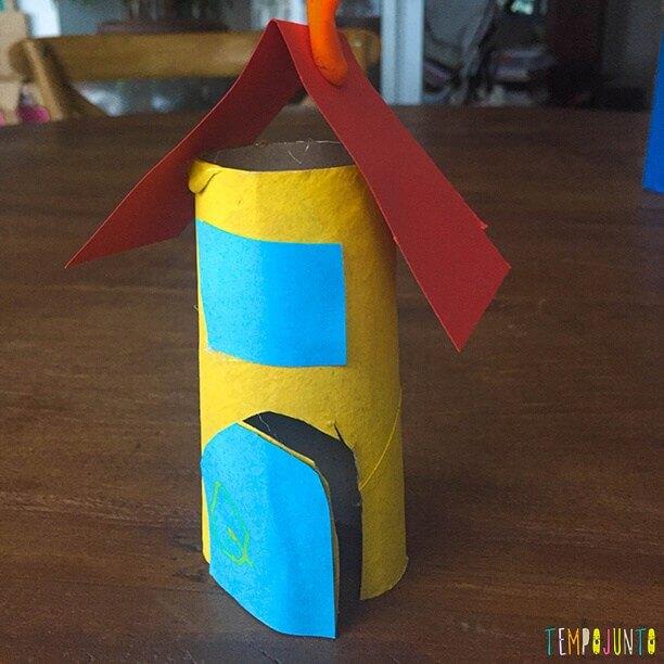 brincadeiras para crianças de 4 usando rolo de papel higiênico