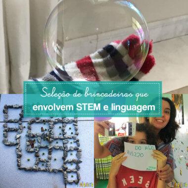 Brincadeiras para ajudar na matemática, ciências e linguagem