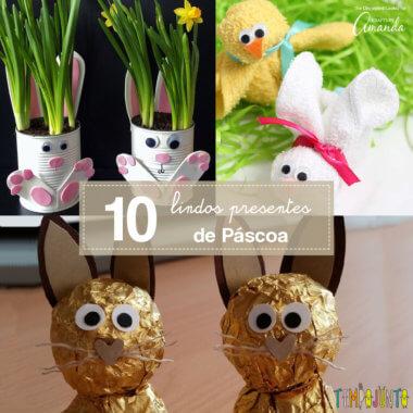 10 ideias de presentes de Páscoa criativos