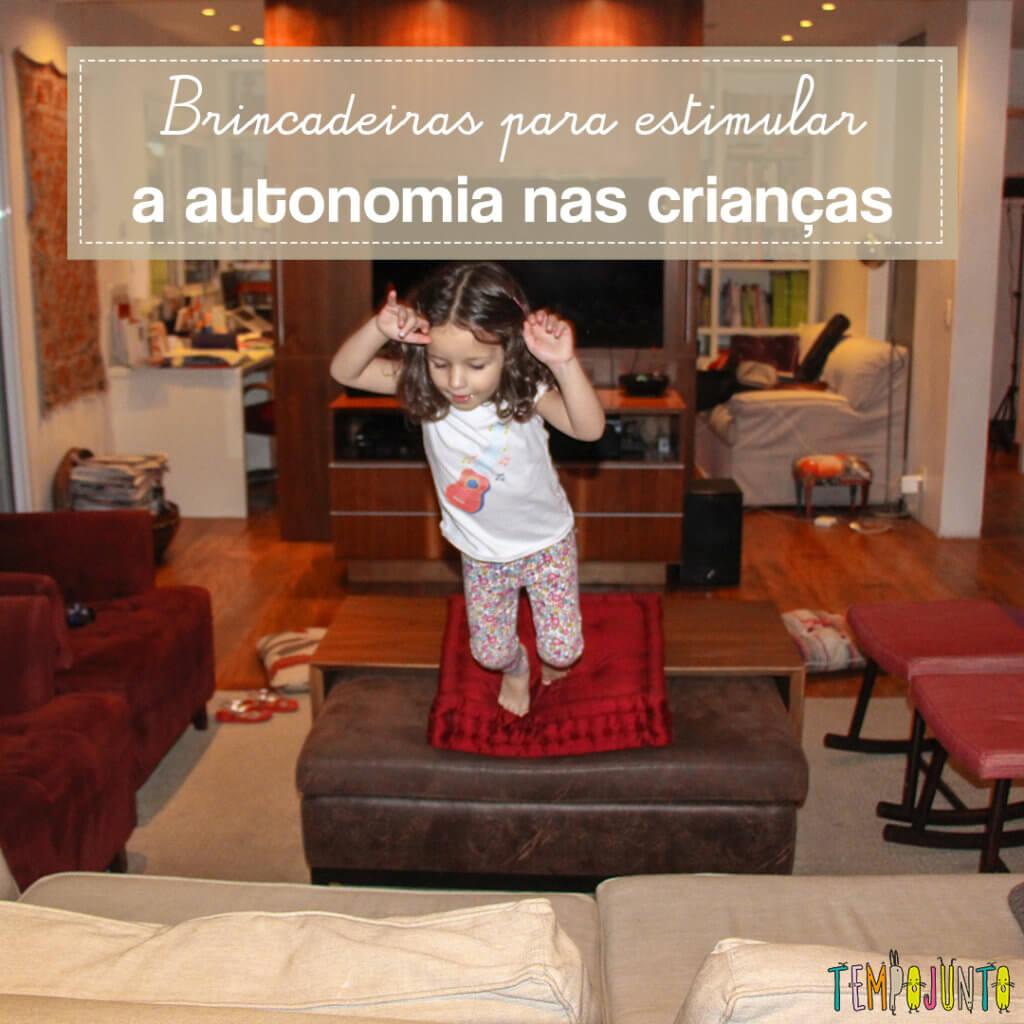 5 Dicas sobre como desenvolver a autonomia dos filhos com a brincadeira