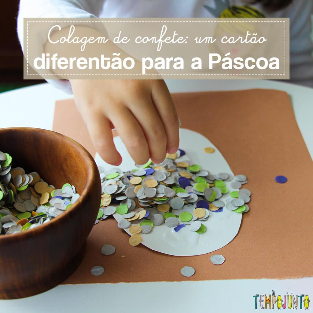 Cartão de Páscoa: como fazer um lindo com as crianças