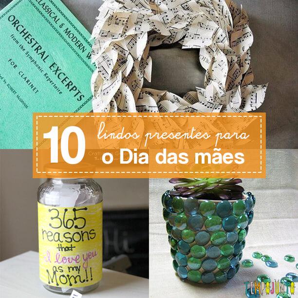 10 ideias com os melhores presentes para o Dia das mães