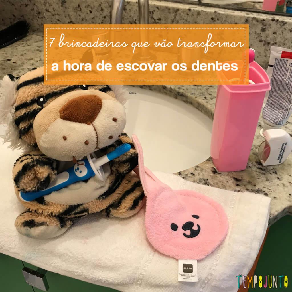 7 brincadeiras que vão transformar o momento de escovar os dentes das crianças