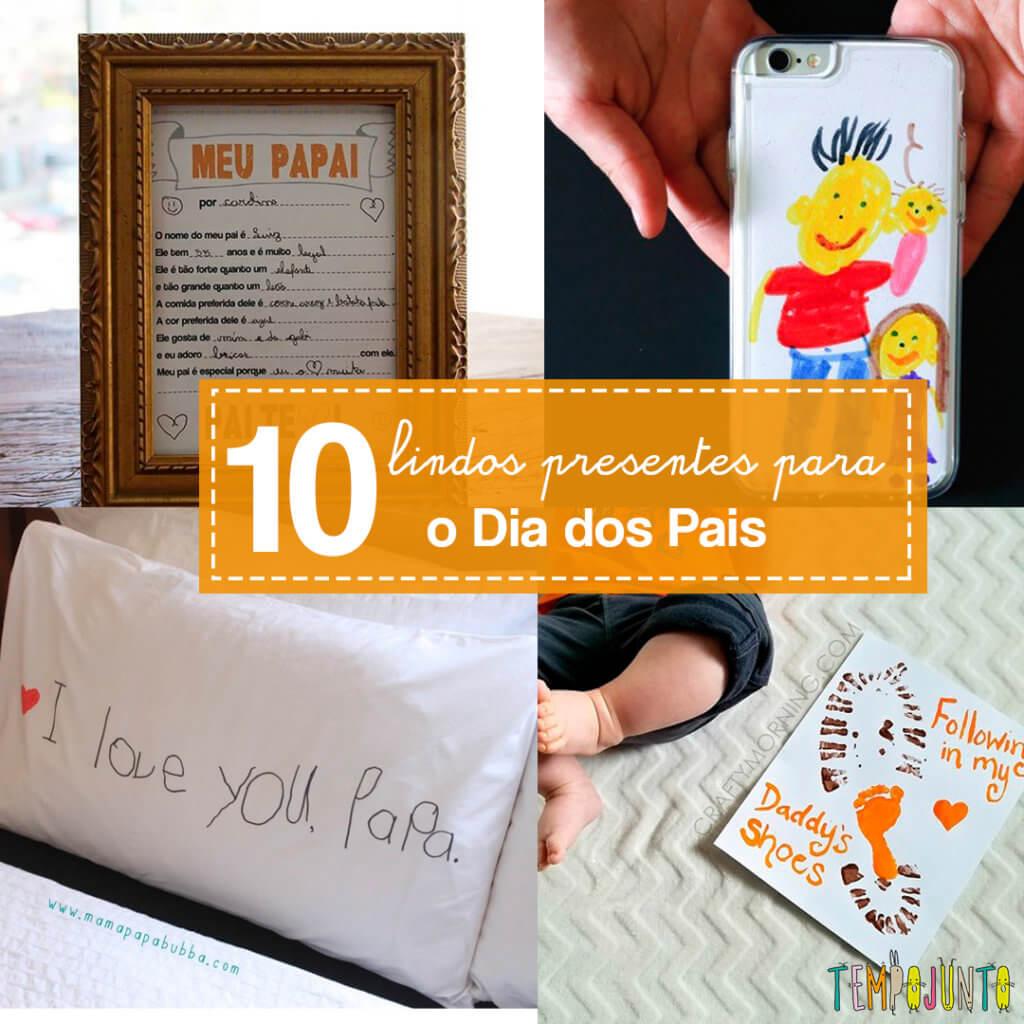10 ideias de presentes criativos e baratos para o Dia dos Pais