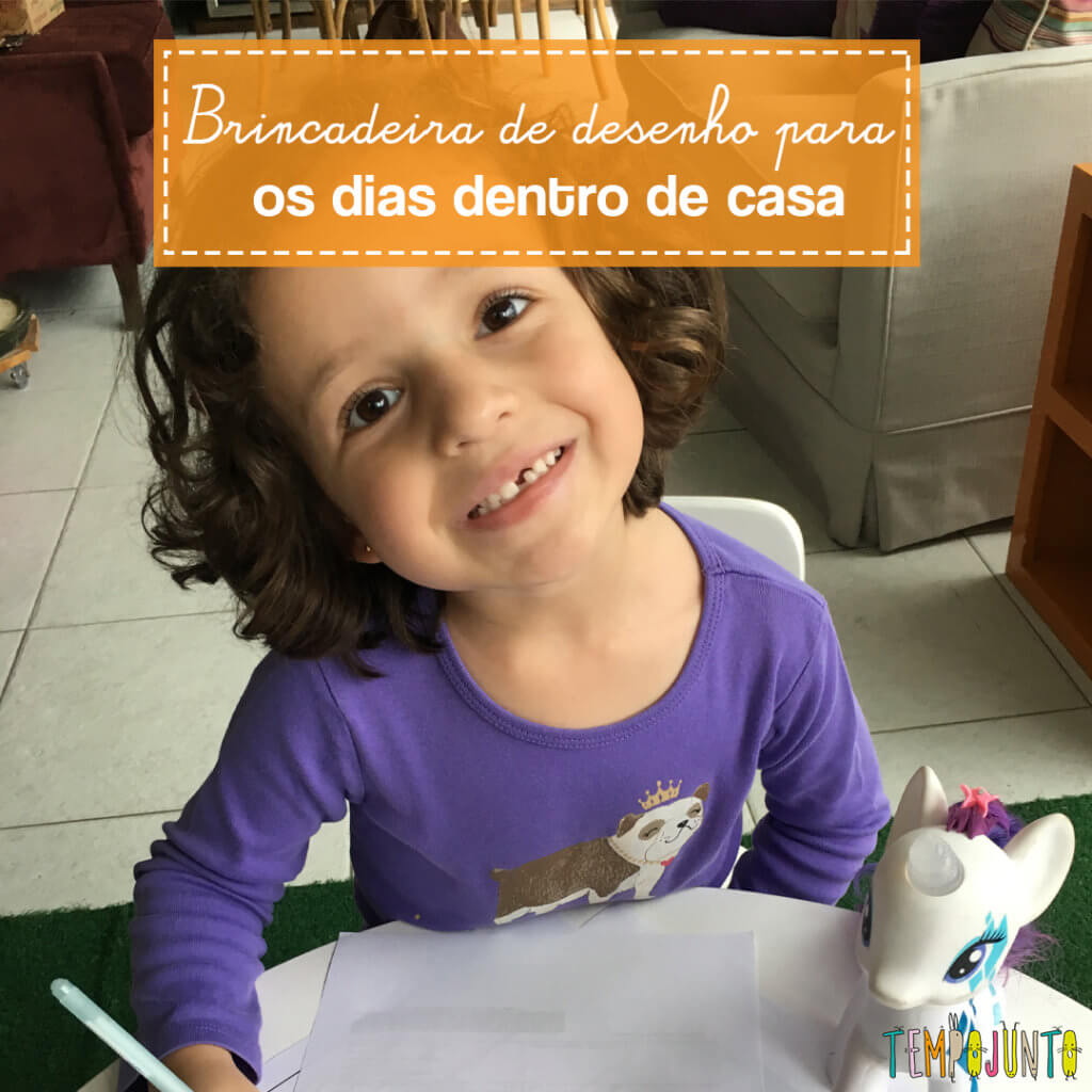 Como ensinar uma criança a desenhar