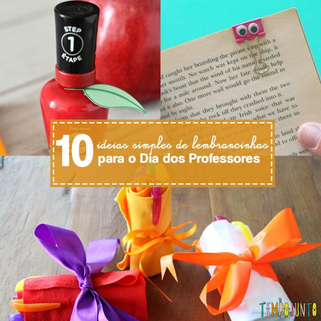 10 lembrancinhas para o Dia dos Professores