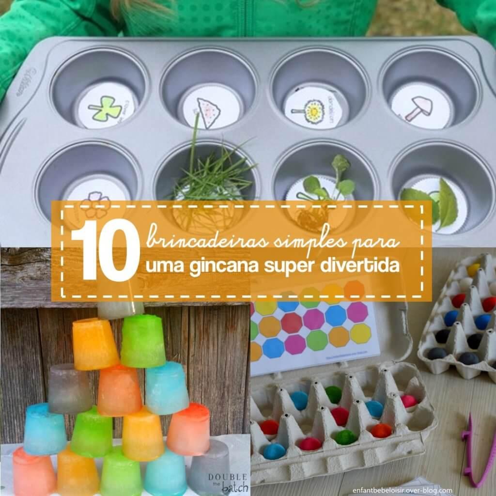 10 ideias para gincanas simples e divertidas