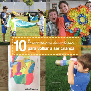 10 ideias de brincadeiras e atividades para o Dia das Crianças