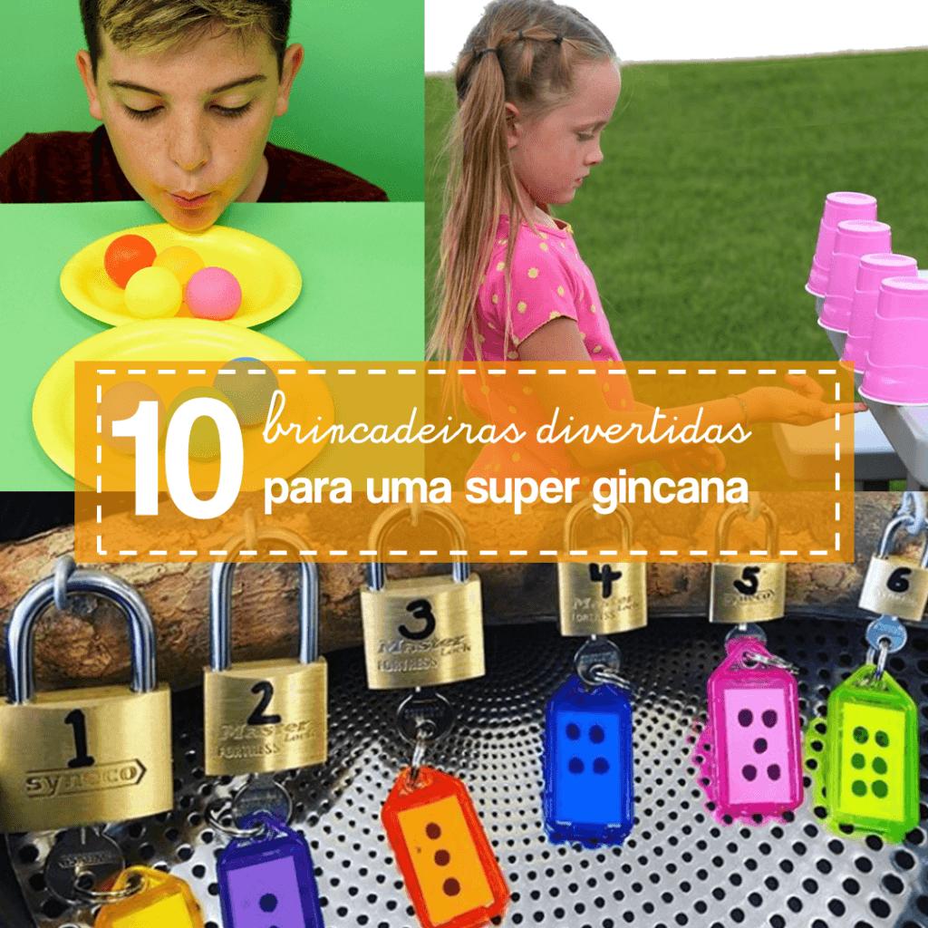 10 ideias de gincanas fáceis e rápidas