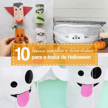 10 ideias de como organizar uma festa de Halloween