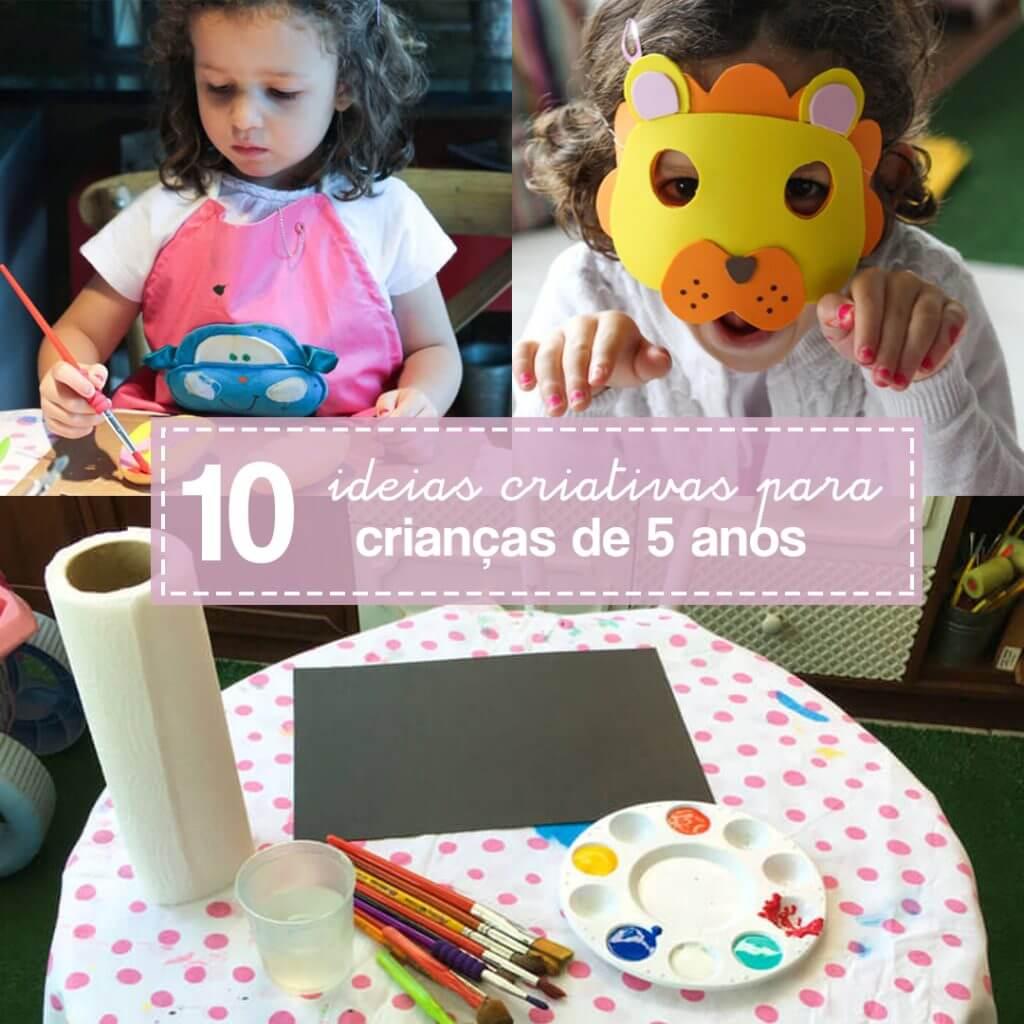 10 atividades de artes para crianças de 5 anos: Retrospectiva