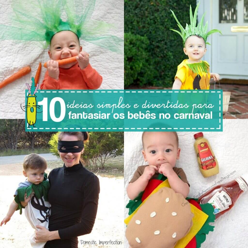 10 dicas de fantasia de carnaval para bebê