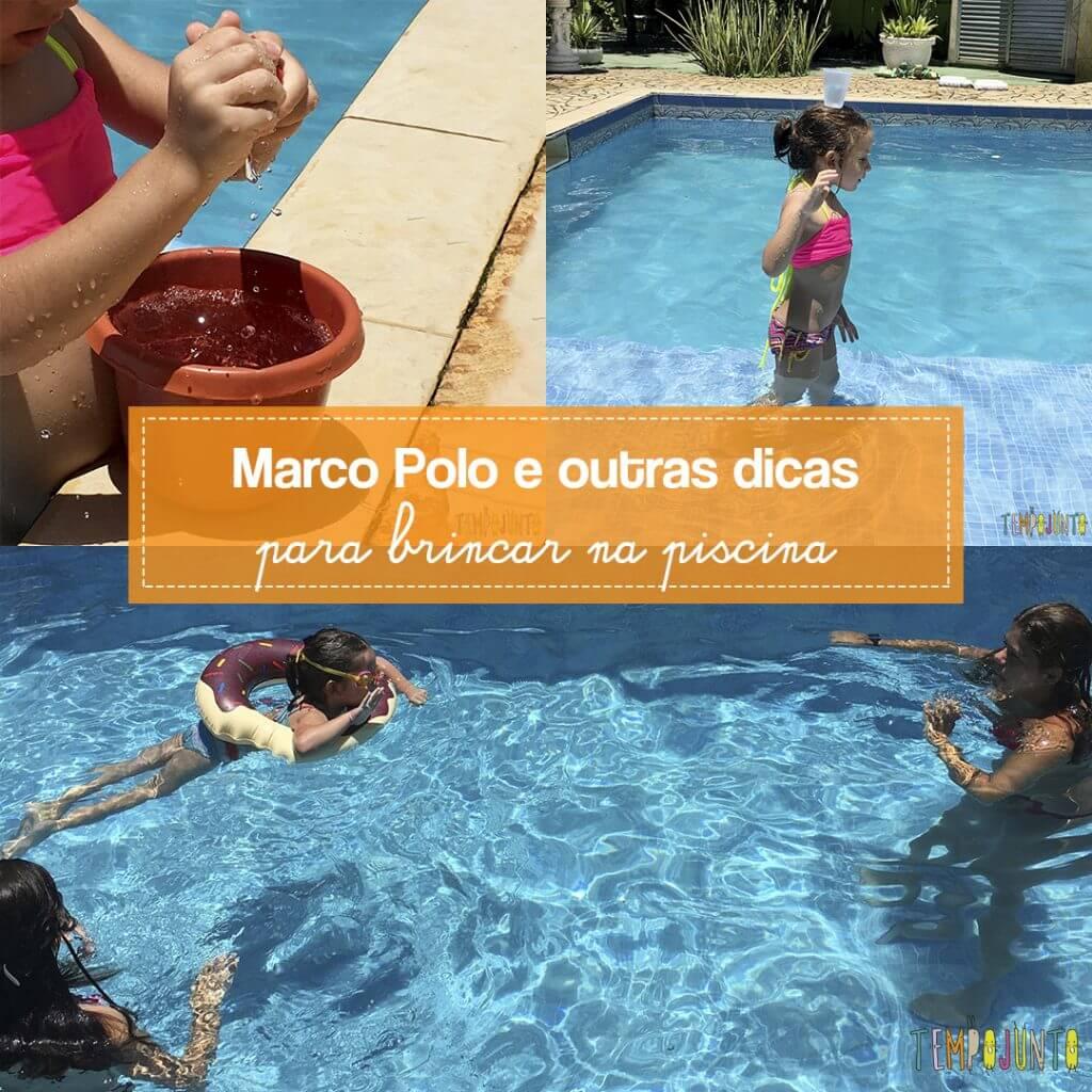 Brincadeiras para piscina: 3 sugestões divertidas