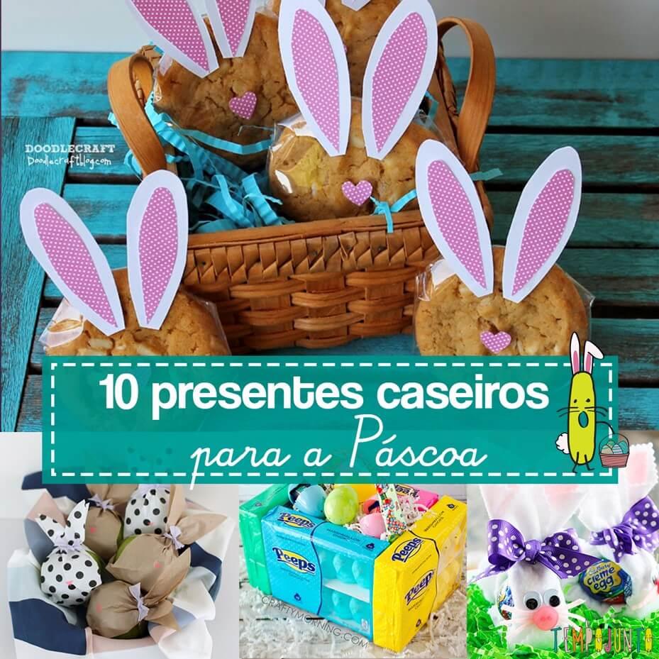 10 ideias simples e baratinhas para presentear na Páscoa
