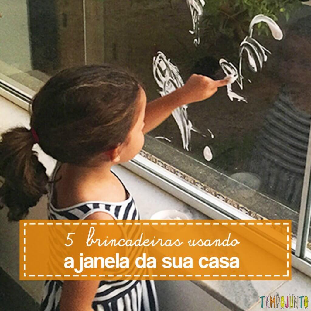 5 brincadeiras para fazer no vidro da janela de casa