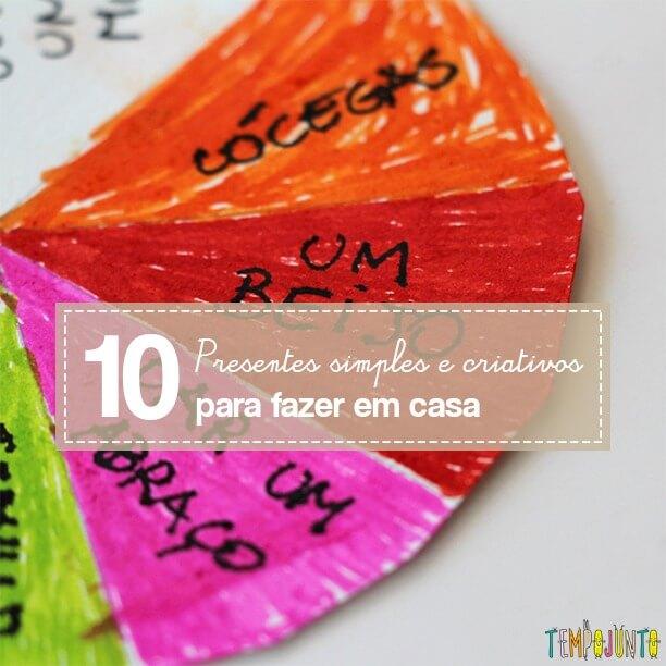10 presentes criativos para o dia dos pais