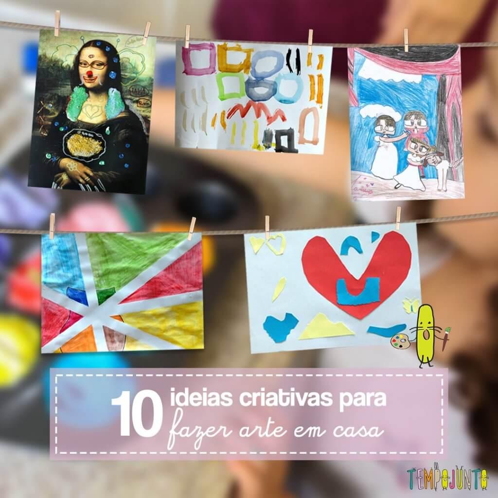 10 brincadeiras de arte inspiradas em museus