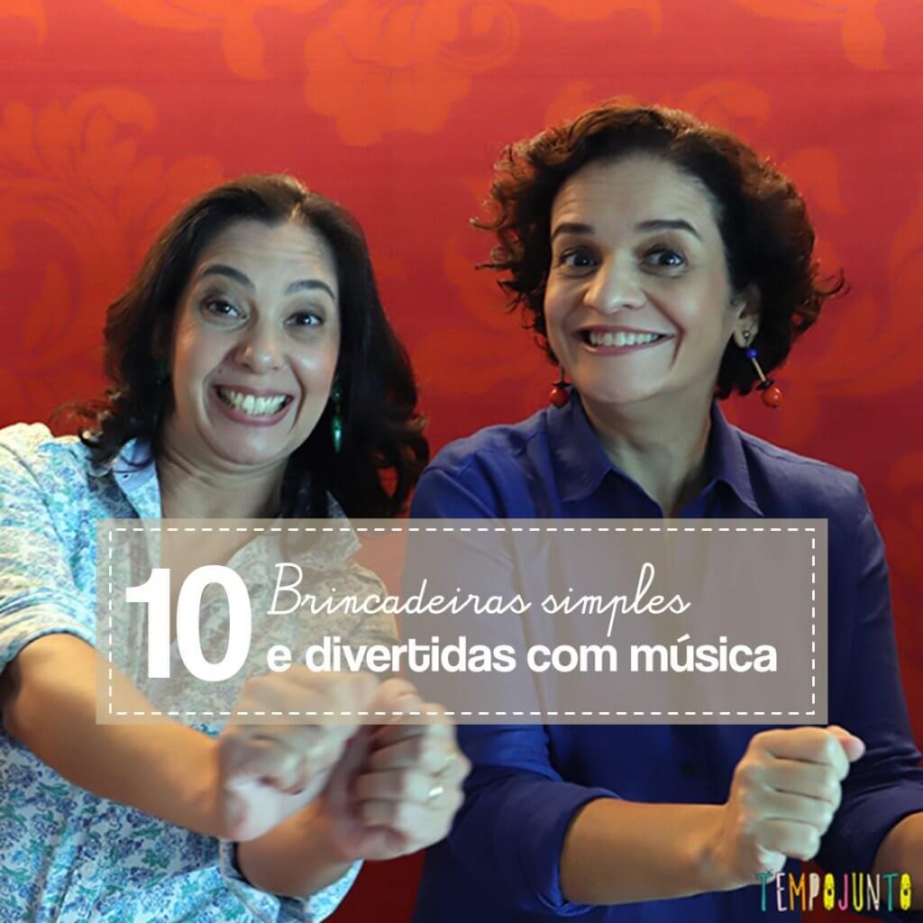 10 brincadeiras divertidas com música