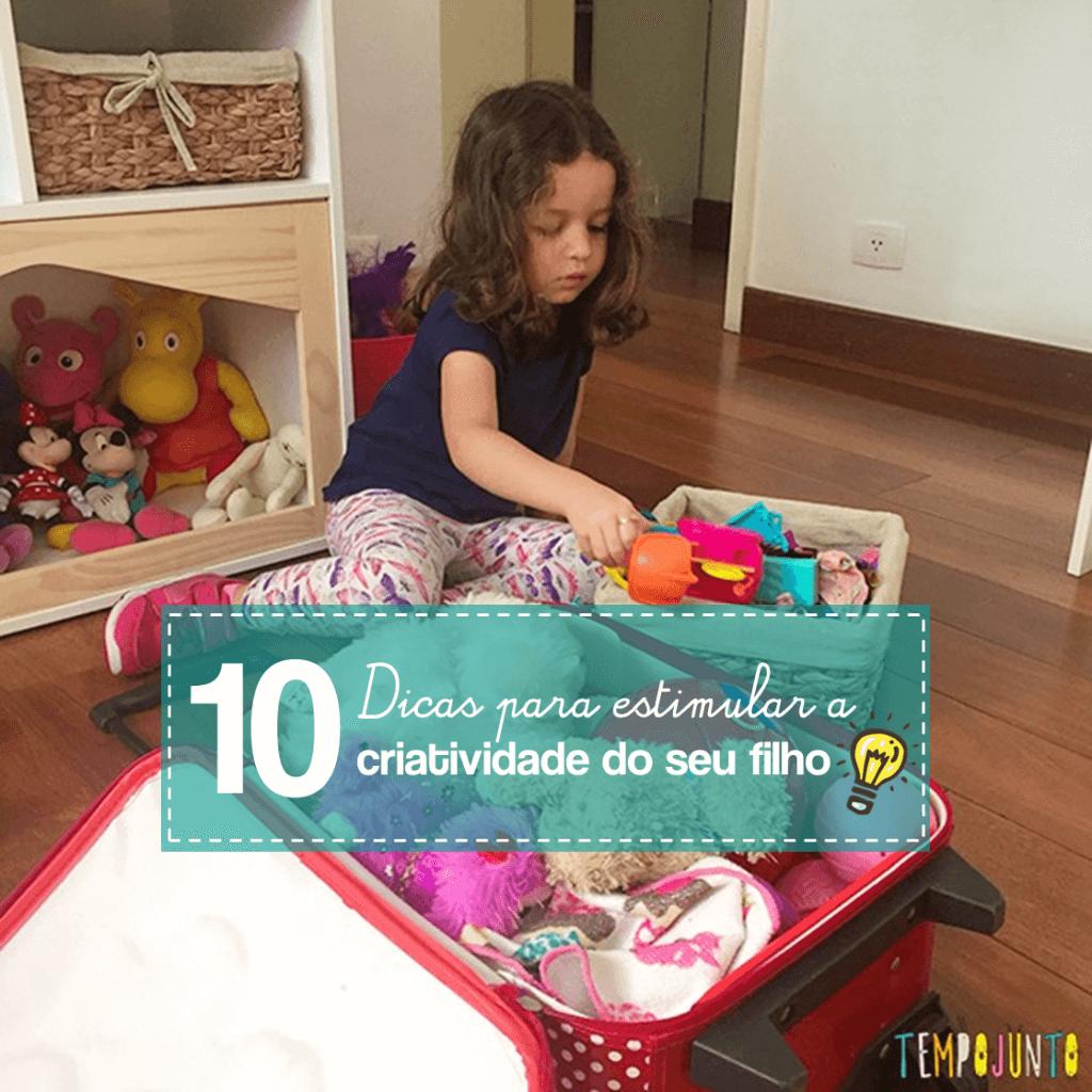 Como estimular a criatividade dos filhos: 10 dicas TOP!