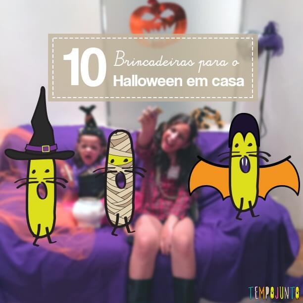 10 ideias para curtir o Halloween em casa e à distância