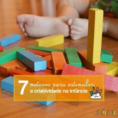 7 motivos para incentivar a criatividade na infância