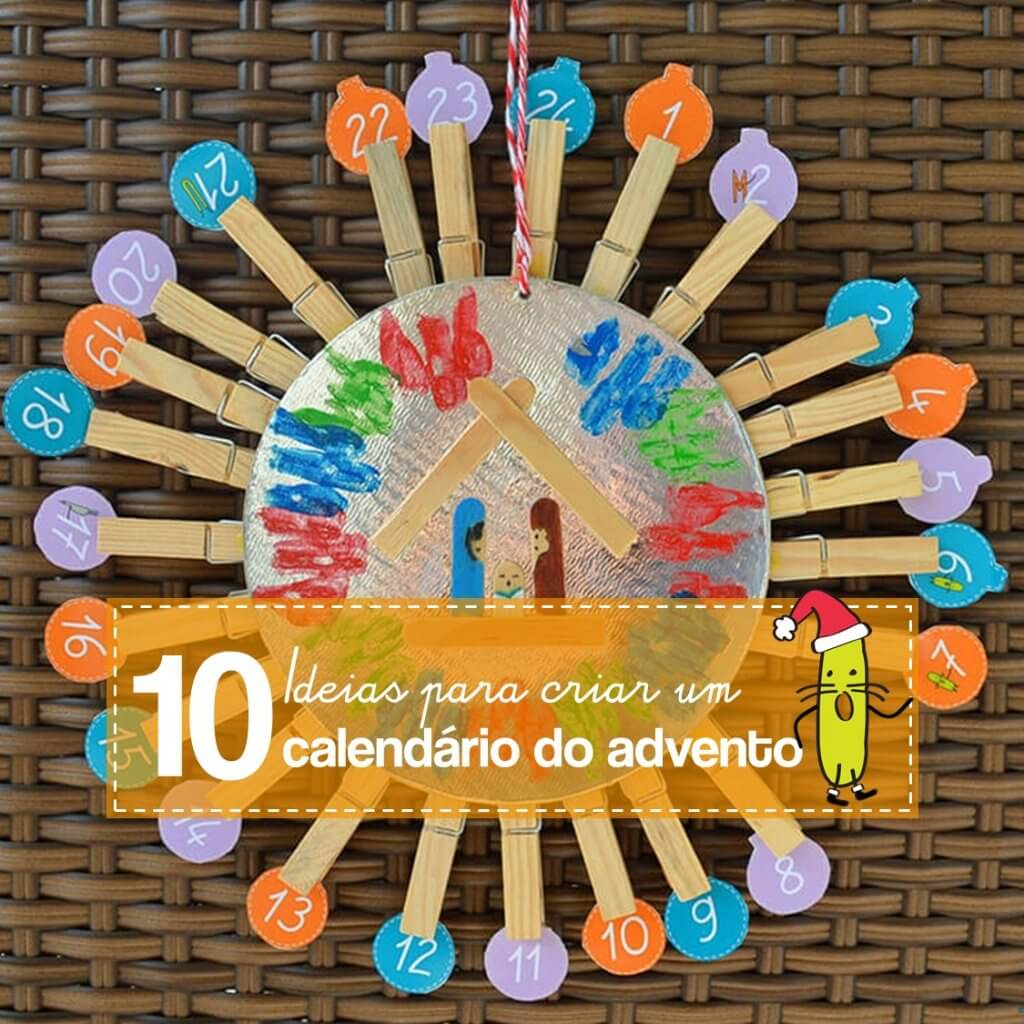 10 ideias para criar um lindo calendário do advento