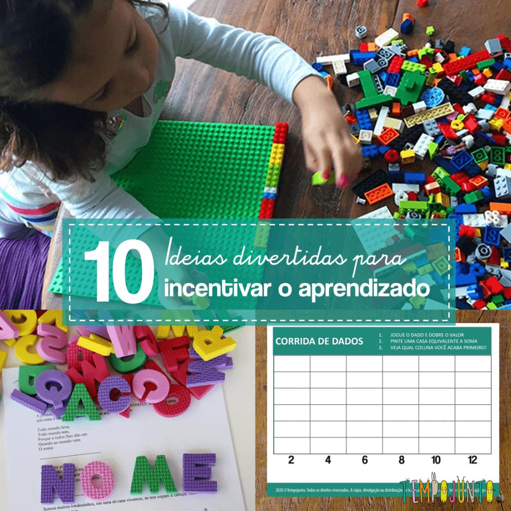 10 brincadeiras para ajudar seu filho a aprender em 2021