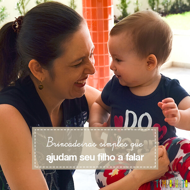 10 brincadeiras que ajudam seu bebê a falar