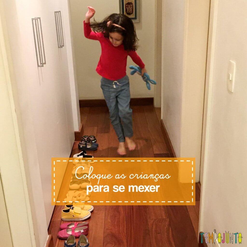 Circuito de movimento para fazer dentro de casa
